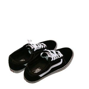 Vans Old Skool Primary check Black and White